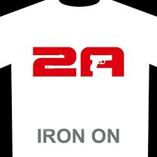 2A - Iron-On Heat Transfer Vinyl - 2nd Amendment