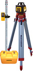 Northwest Instrument 3-Beam Exterior Rotary Laser Package w/ Contractor's Tripod