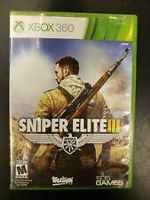 Sniper Elite III (Microsoft Xbox 360, 2014) CIB Tested Microsoft Complete