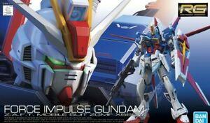 Rg 33 Gundam ZGMF-X568/8 Real Grade Force Impulse 1/144 Model Kit Bandai