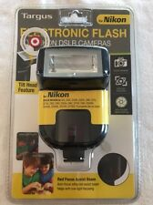 TARGUS TG-DL20N ELECTRONIC FLASH for NIKON DSLR CAMERAS w/ TILT HEAD FEATURE NEW