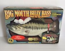 1999 Big Mouth Billy Bass Motion Activated The Singing Fish.
