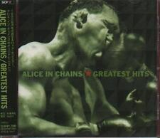 Alice in Chains - Greatest Hits Japan CD with OBI Strip