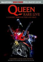 QUEEN / RARE LIVE EXPANDED COLLECTOR'S EDITION 2CD+1DVD press 3disk Compilation