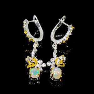 Jewelry Earrings Opal Earrings Silver 925 Sterling   /E56728