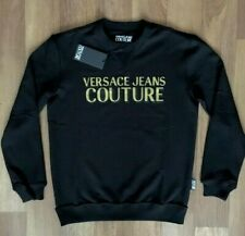 VERSACE men's long-sleeved blouse size  2XL Black JEANS COUTURE