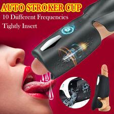 MALE FULLY AUTOMATIC MASTURBATOR,ELECTRIC STROKER CUP ,SEX MACHIEN TOYS FOR MEN