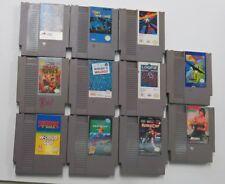 11 Nintendo NES Games only: Roadblasters,Total recall, Bad dudes,Pinball,Loopz..