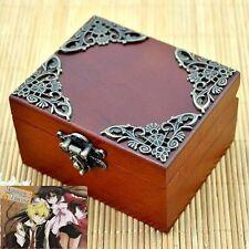UNIQUE Vintage Square Wind Up Music Box : PANDORA HEARTS LACIE