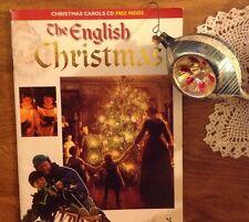 THE ENGLISH CHRISTMAS BOOK WITH ENGLISH CAROLS CD LOVELY!