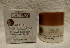Natural Skin Piel de Porcelana Crema Facial con Polvo de Arroz 70g by Arabela