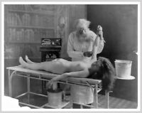 Circa 1900 Nude Woman Autopsy Photo Fitz Guerin Silver Halide Photo