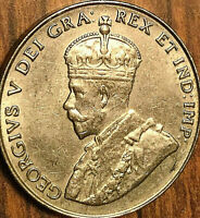 1935 CANADA 5 CENTS COIN - Fantastic example!