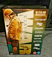 Classic War Collection (DVD, 2009, 9-Disc Set, Box Set) NEW & SEALED