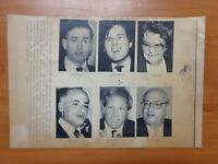 Vintage Wire Press Photo Massachusetts Candidates Umina Connolly McCarthy