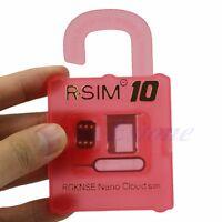 New R-SIM 10 Turbo Sim Unlock Card for Apple iPhone 6 6+ 5S 5C 5 4S iOS 8.x RSIM