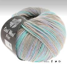 Lana Grossa Cool Wool Print Laine Mérinos 50g Couleur 793 Grège / Beige / Mente