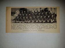 University of Hawaii Honolulu 1927 Football Team Picture