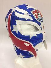 Usa Soccer Team Luchador Mask