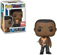 Funk Pop! Marvel Collector Corps Exclusive Nick Fury with Goose The Cat #447