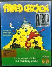 Amiga ALFRED CHICKEN by Mindscape RARE Vintage PLATFORM Game AGA Compatible