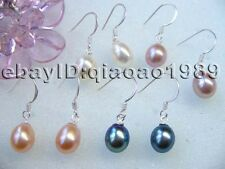 AAA 60 pairs freshwater pearl earring dangle s925 Hook