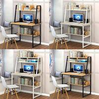 Bookcase Desk Bookshelf Study Table Home Office Computer Workstation 4 Model