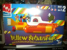 """2012 Mpc Yellow Submarine model kit, """"New! still sealed in cellophane & Mint!"""