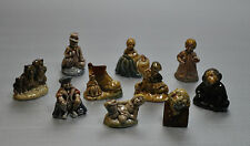 Lot of 10 (Red Rose Tea) Wade England Whimsies, including 25$/value 3 bears !