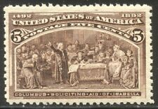 U.S. #234 Mint VF NH - 1893 5c Columbian