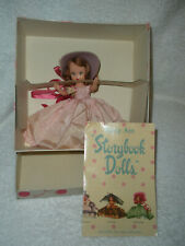 Vintage Nancy Ann Story Book Doll #186 Child Born On The Sabbath & Orig. Box