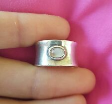 Moonstone Band Fine Rings