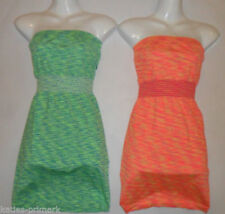 Short Sleeve Mini Dresses for Women with Strapless/Bandeau