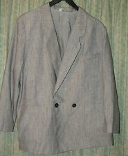 Grey jacket size XL. 23 % wool & 24% cotton, in GREAT condition