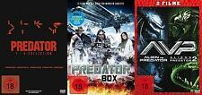 10 Movies Predator 1 2 3 4+ Alien Predators Mega Collection DVD Box Edition New