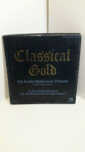 THE LONDON PHILHARMONIC ORCHESTRA --- CLASSIC GOLD -- 4 LP's