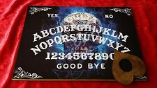 Wooden Ouija Board Bizarre Electric Skull & Planchette Instructions Ghost ESP