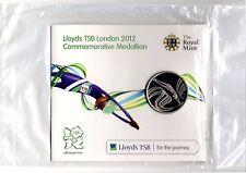 Lloyds TSB London 2012 Commemorative Olympic Medallion