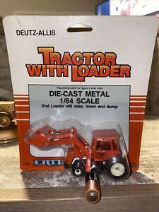 1/64th Scale Deutz-Allis Tractor with Loader Die-Cast Ertl