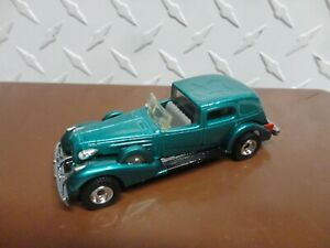 Loose Hot Wheels Green Classic Caddy w/Real Riders
