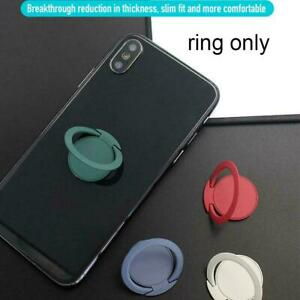 360° Rotation Ultra-thin Magnetic Finger Ring Stand For Mobile Holder Phone G1L9
