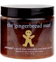 PHILOSOPHY  The Gingerbread Man  Hot Salt Tub & Shower Body Scrub 20 OZ SEAL OFF