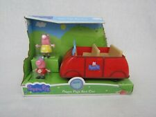 Peppa Pig Talking Sounds Family Fun Red Car Peppa Mommy Pig Figures