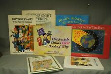 lot Jewish childrens books Only Nine Chairs Passover Holidays all year round