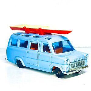 SIKU 💎RARE🛶 CANOE Ford Transit Van Bus  red roof rack v334 v264 4 P 294