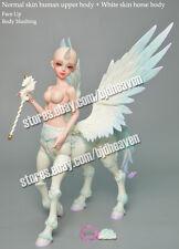 BJD SD Centaur ( Human upper body + Horse body+Wing ) Free eyes Face Up