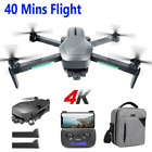 2 Aixs 5G WIFI HS470 4K Camera Drone GPS Brushless Quadcopter BackPack 2 Battery