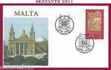 W550  VATICANO FDC ROMA PAPA GIOVANNI PAOLO II WOJITYLA MALTA 1990