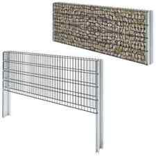 Cages et pierres de gabion de jardin