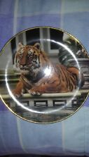 The Reflective Tiger Limited Edition Plate by Ron Kimball !